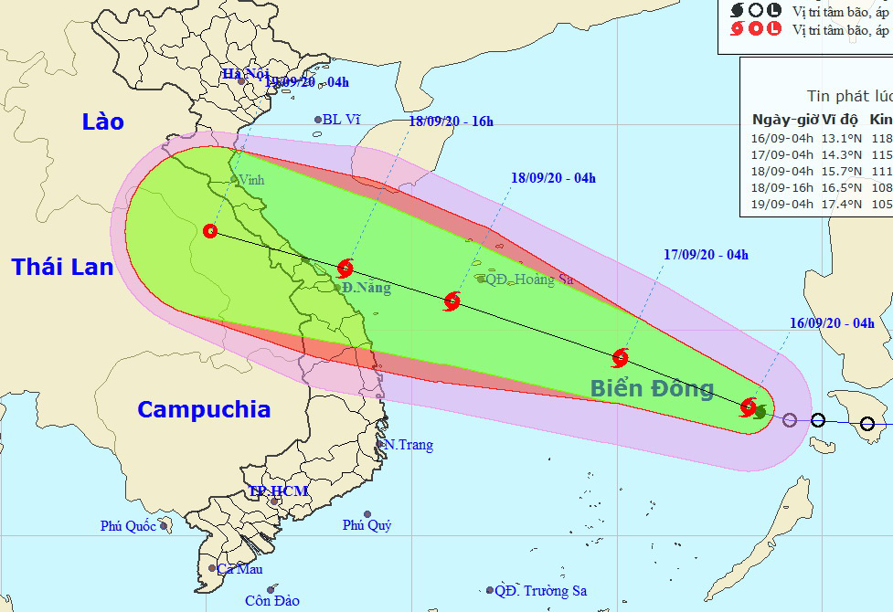 Storm Noul to pick up strength after entering East Vietnam Sea