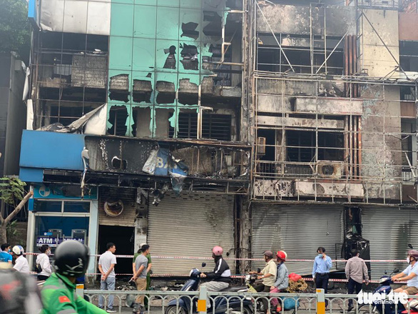 Homeless man held for allegedly causing fire at Eximbank office in Ho Chi Minh City