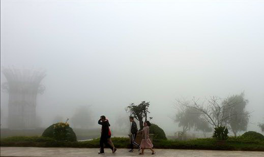 Vietnam's Sa Pa experiences unseasonable cold spell in autumn