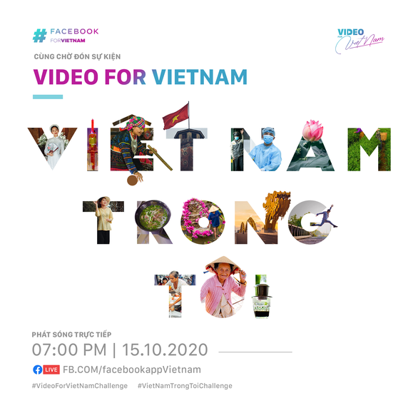 Facebook launches 'Video for Vietnam' campaign to promote beauty of country, its people
