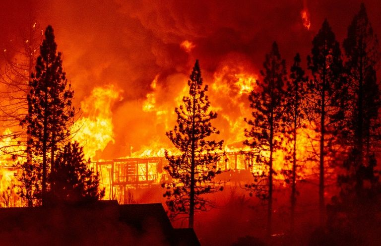 Rebuild or leave? Future uncertain for US communities in fire zones