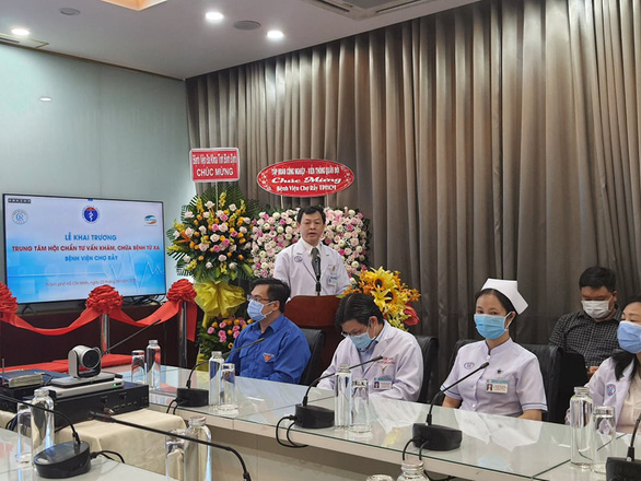 Another hospital in Ho Chi Minh City offers telehealth service