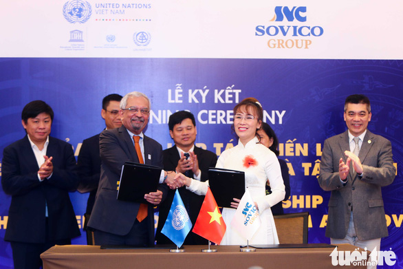 Vietnamese corporation, UN sign MoU on strategic partnership to support Sustainable Development Goals
