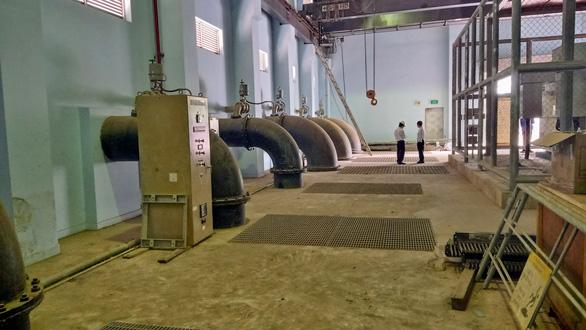 Saigon completes largest sewage pumping station