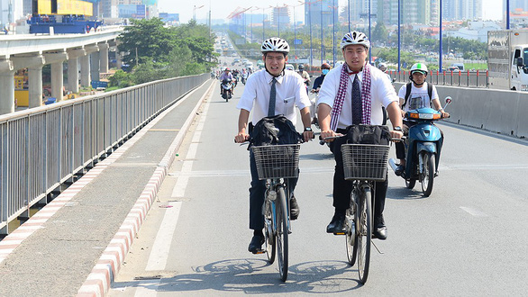 Ho Chi Minh City transport department proposes trialing public bicycle system