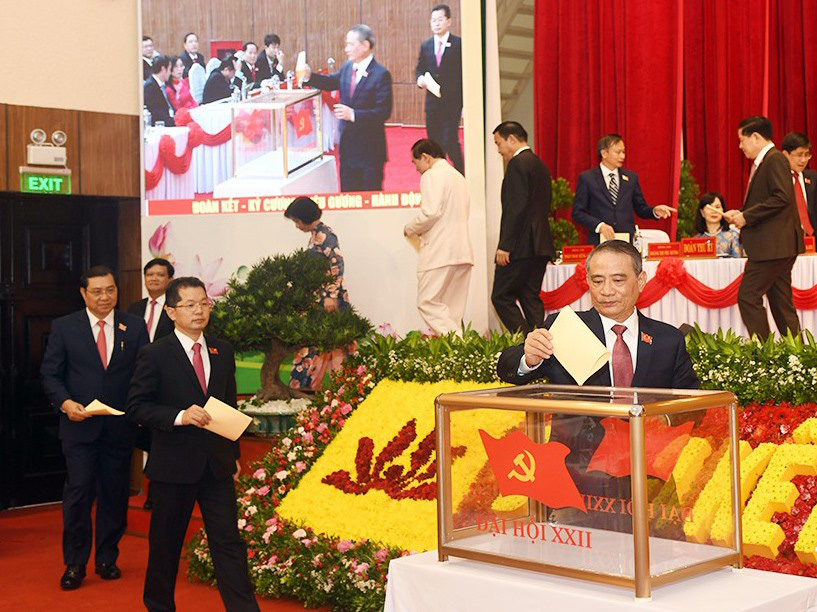Nguyen Van Quang elected as Da Nang Party chief for 2020-25 tenure