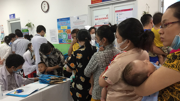 Child respiratory diseases surge in Saigon during stormy season