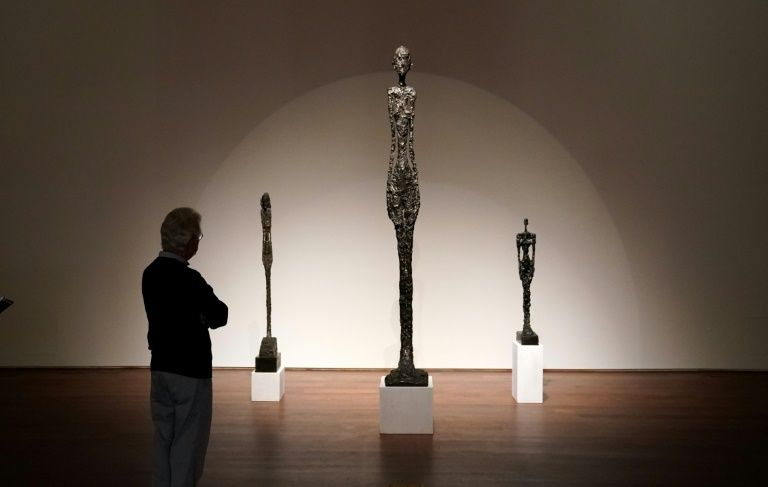 Giacometti sculpture in sealed bid auction - starting price $90mn