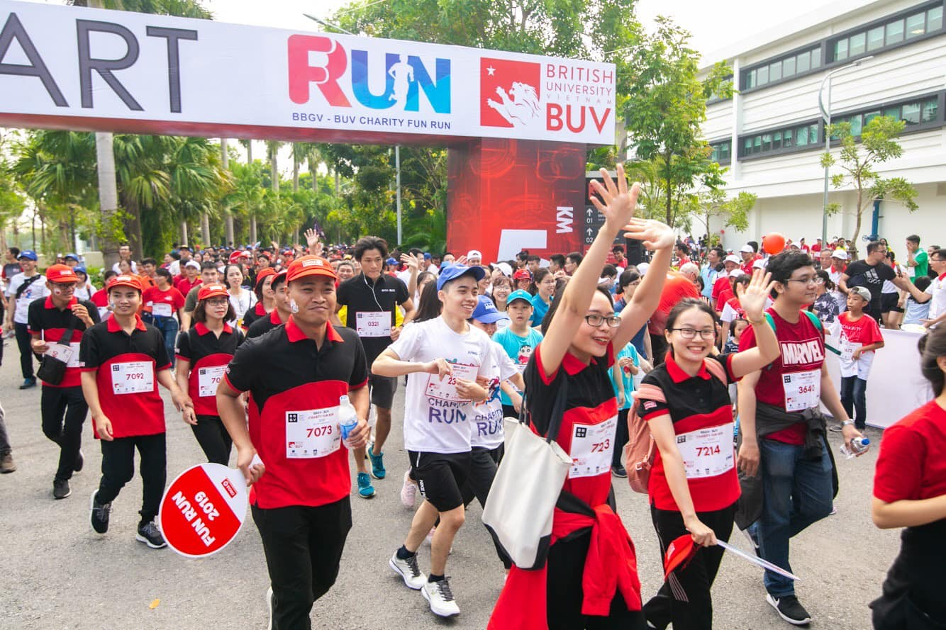 BritCham Vietnam's Fun Run 2020 upholds charitable spirit amid health crisis