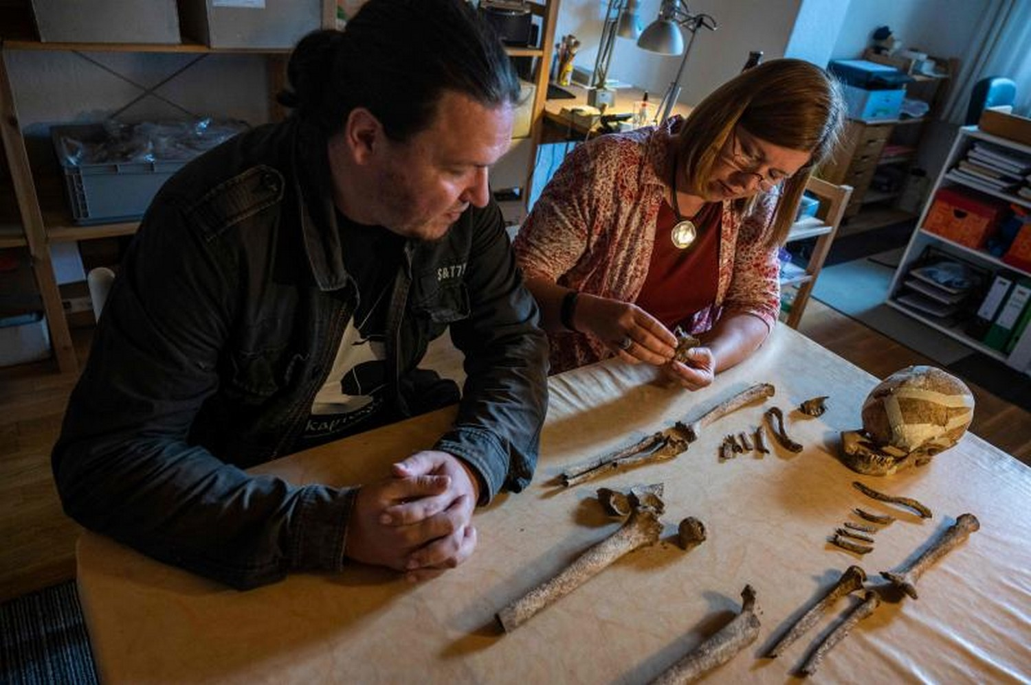 Ancient skeleton find in Germany offers clues on prehistoric era
