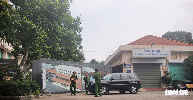Police probe Ho Chi Minh City Eye Hospital for violations in bidding process
