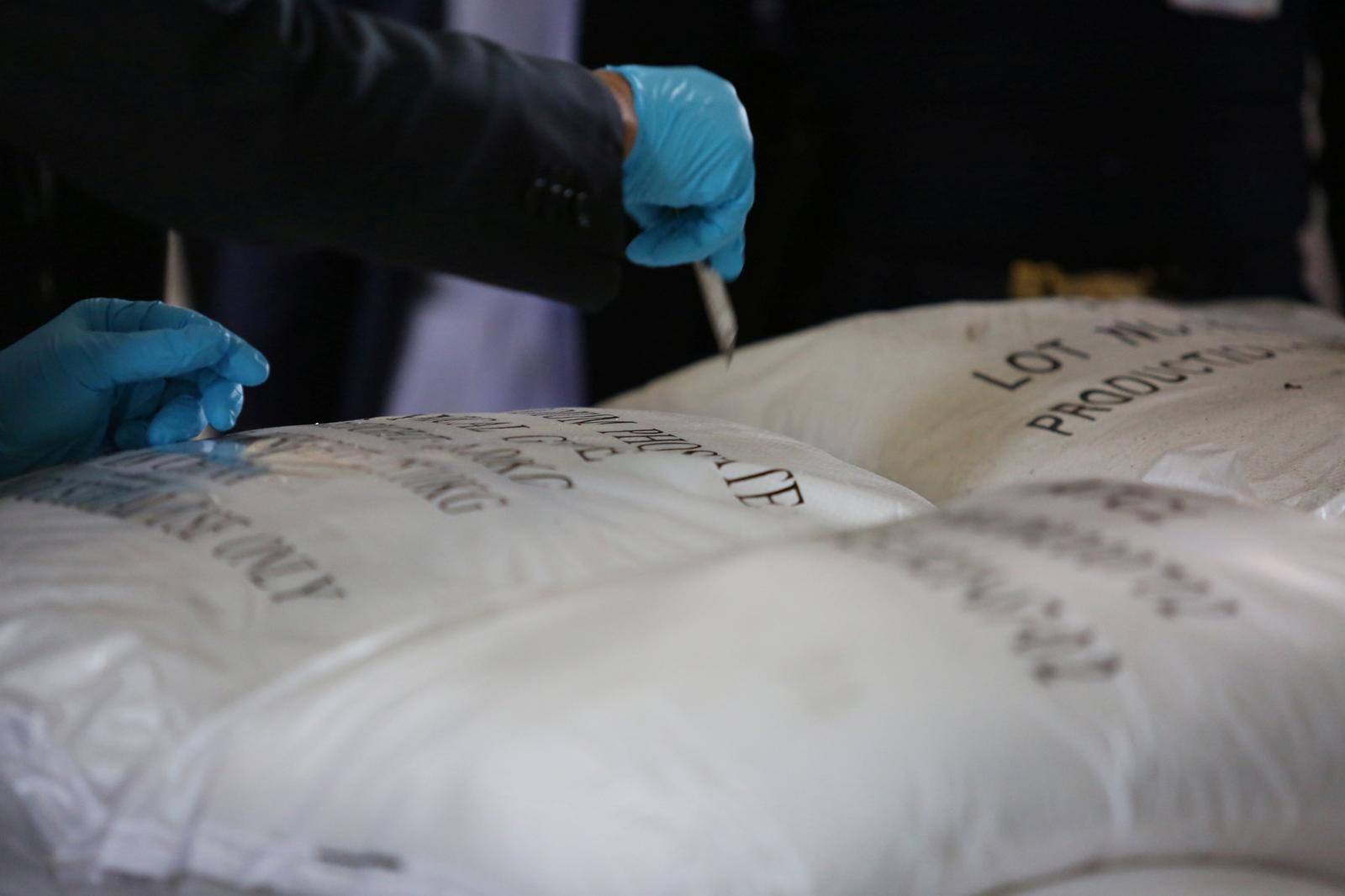 Thailand says giant drug bust wasn't