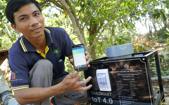 Self-taught technician in Mekong Delta authors fully automated irrigation system