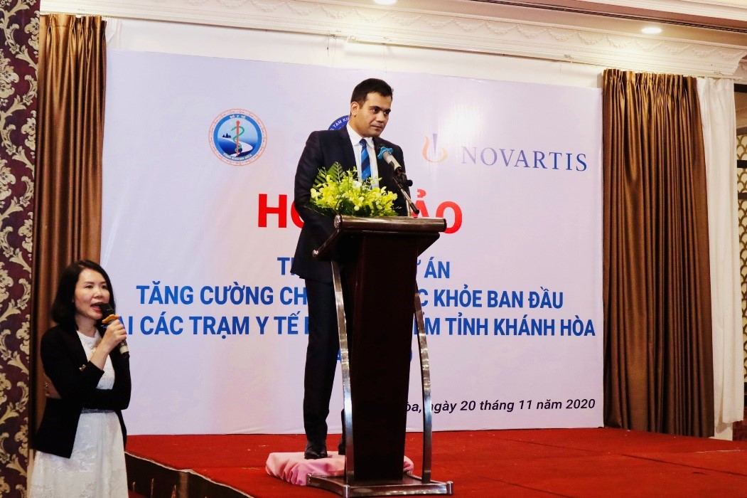 Novartis launches project to strengthen primary healthcare in Vietnam's Khanh Hoa Province