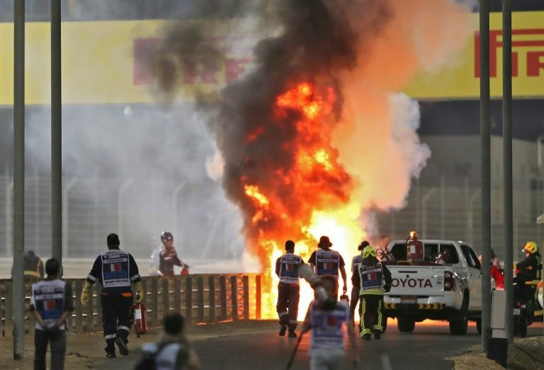 Race officials praise modern safety systems for saving Grosjean's life
