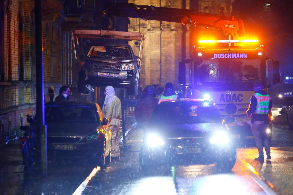 Five killed, including baby, as car ploughs into pedestrian zone in Germany