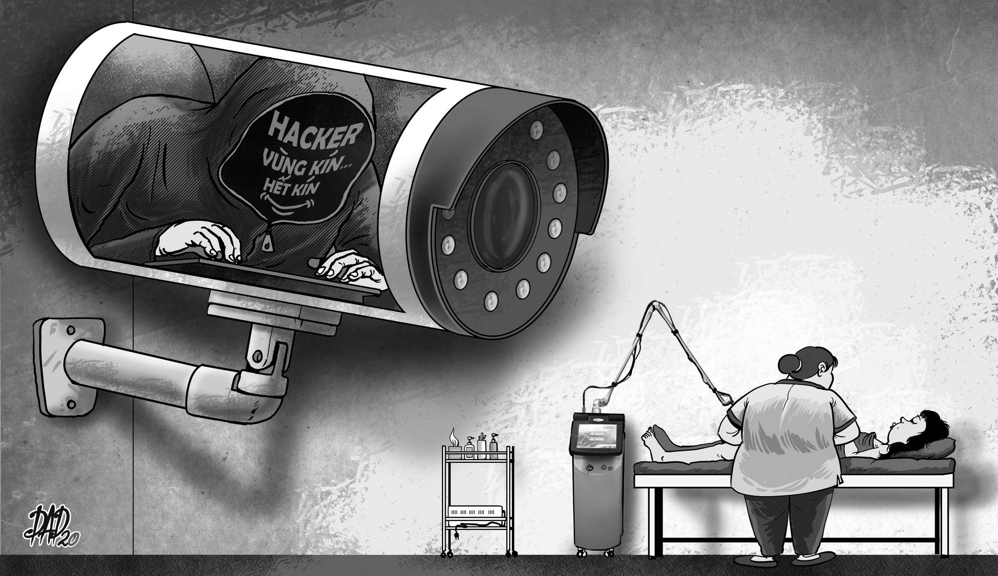 Sensitive CCTV footage of customers at Hanoi spas sold online