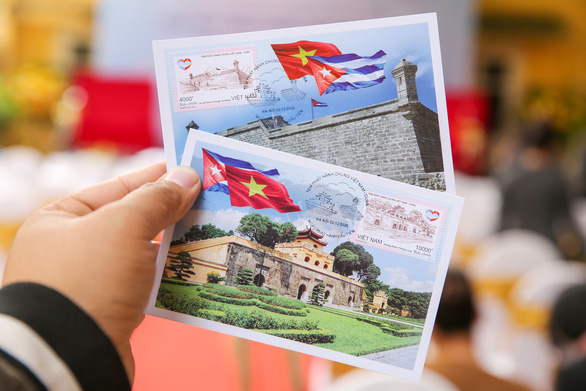 Vietnam, Cuba celebrate diplomatic ties with special stamp set