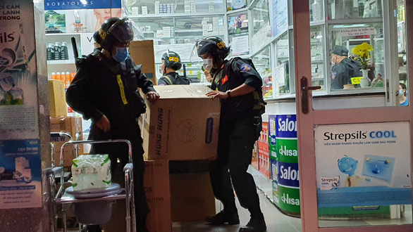 Police raid largest drugstore chain in southern Vietnamese province over product origin issue