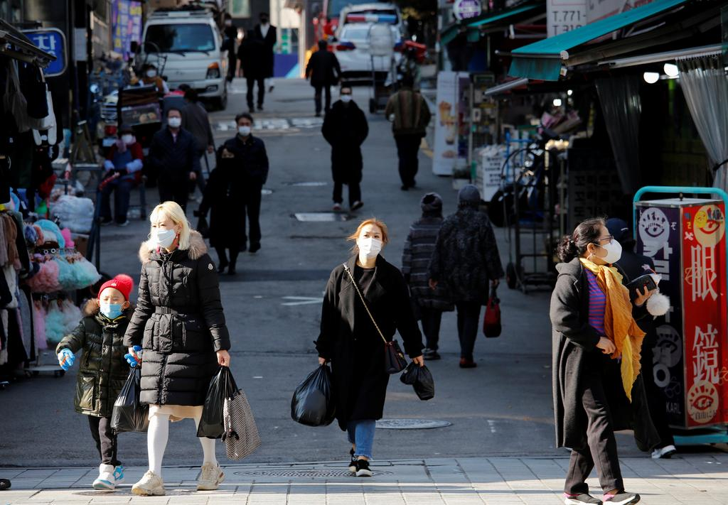 South Korea to consider new curbs as coronavirus cases hit 9-month high