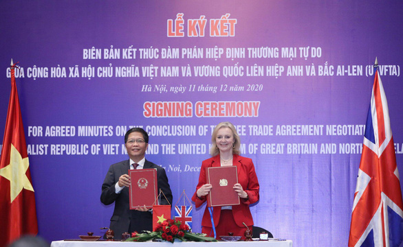 Vietnam, Britain close in on post-Brexit trade deal