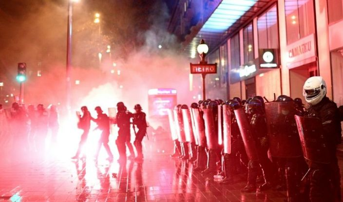 French law on filming police triggers third weekend of protests