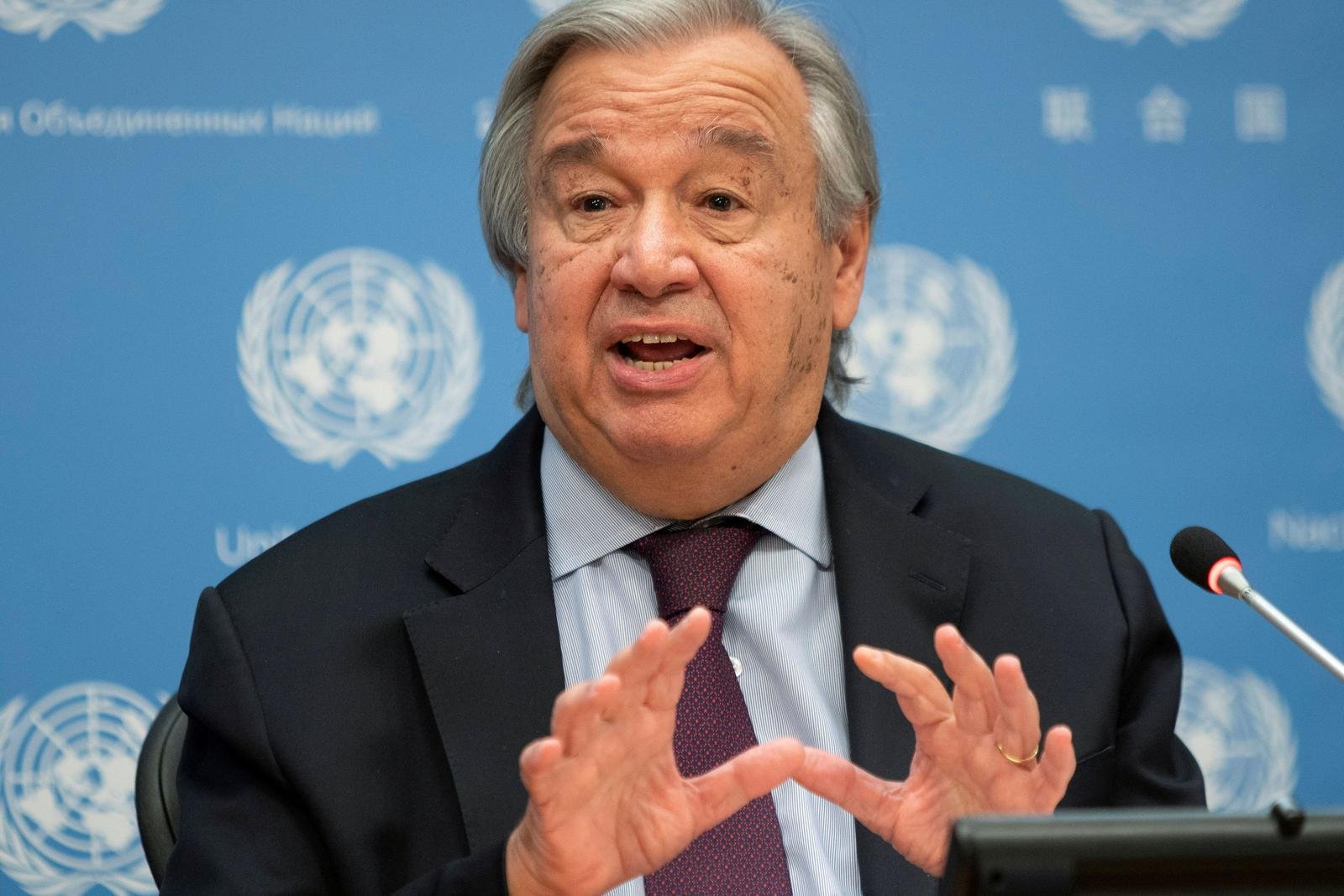 U.N. chief urges leaders of every country to declare 'climate emergency'