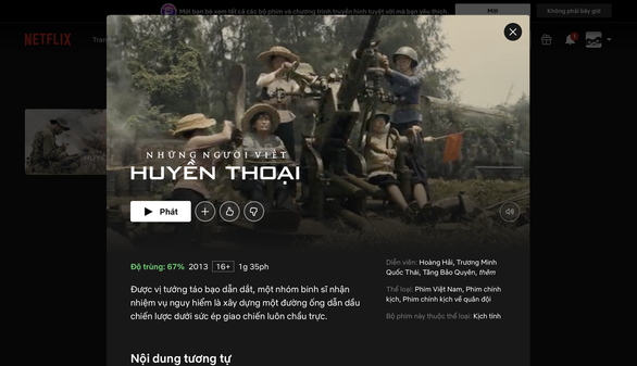 Netflix reveals license for two Vietnamese movies questioned of copyright infringement