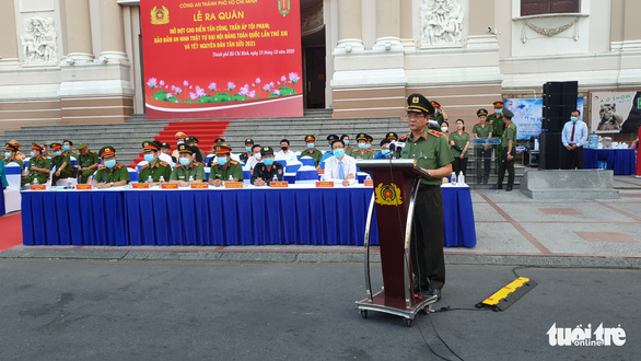 Ho Chi Minh City police get tough on criminals
