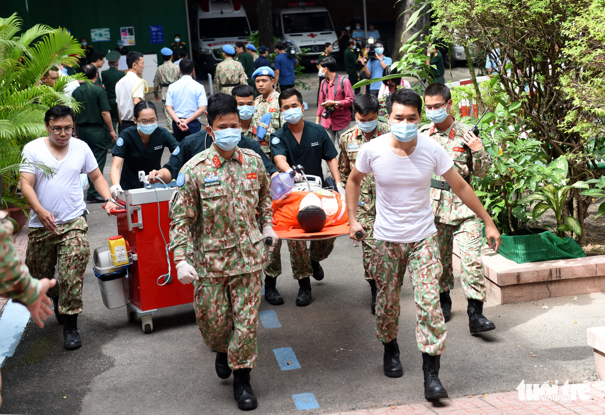 Vietnam's third field hospital begins final training for peacekeeping missions in South Sudan
