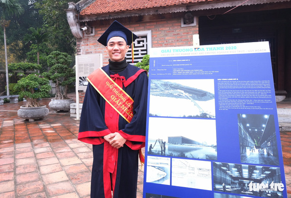 Silk museum design secures Vietnam student top prize for architecture