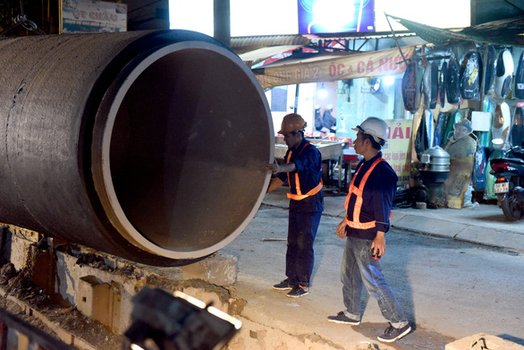Ho Chi Minh City builds giant new water supply pipeline
