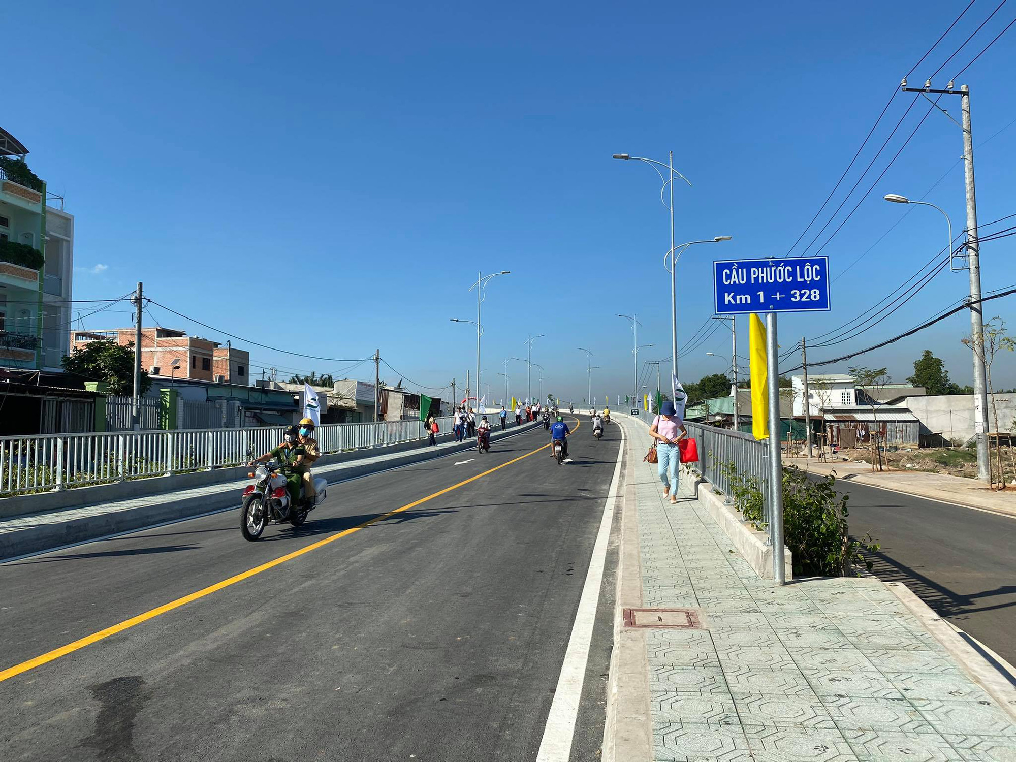 $17mn bridge inaugurated following 8-year-long construction on Ho Chi Minh City outskirts