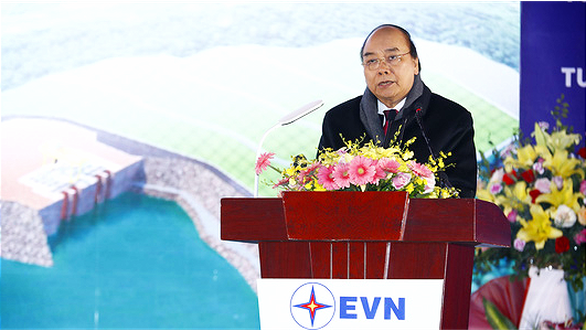Expansion of Hoa Binh hydropower plant begins in northern Vietnam