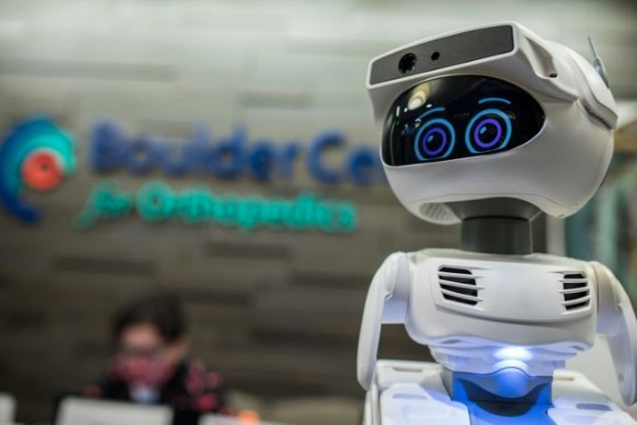 Pandemic's robot 'heroes' highlight their value at tech show