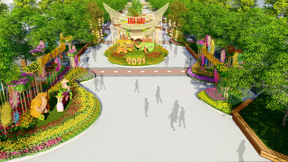 Ho Chi Minh City's 2021 Flower Street to resemble countryside life