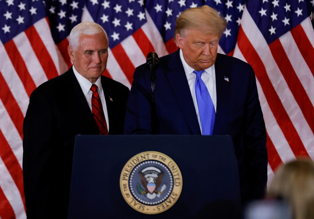 Pence says he opposes removing Trump with the 25th Amendment