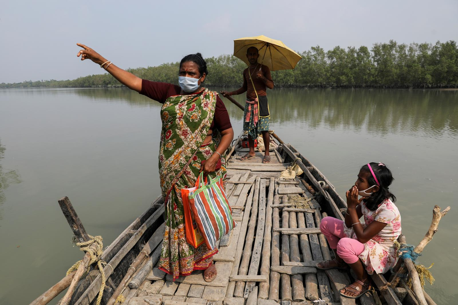 Tigers stalk as storms, poverty force Indians deep into mangrove forests