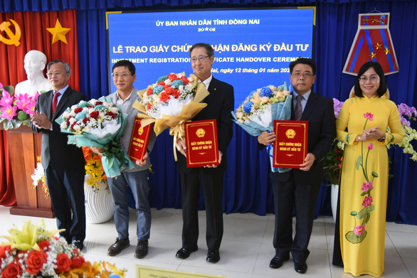 Vietnam's southern industrial zones attract three investment projects worth $190mn