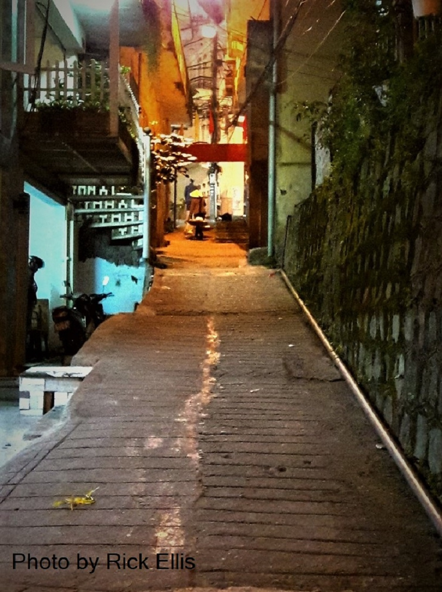 Intriguing alleys in Da Lat