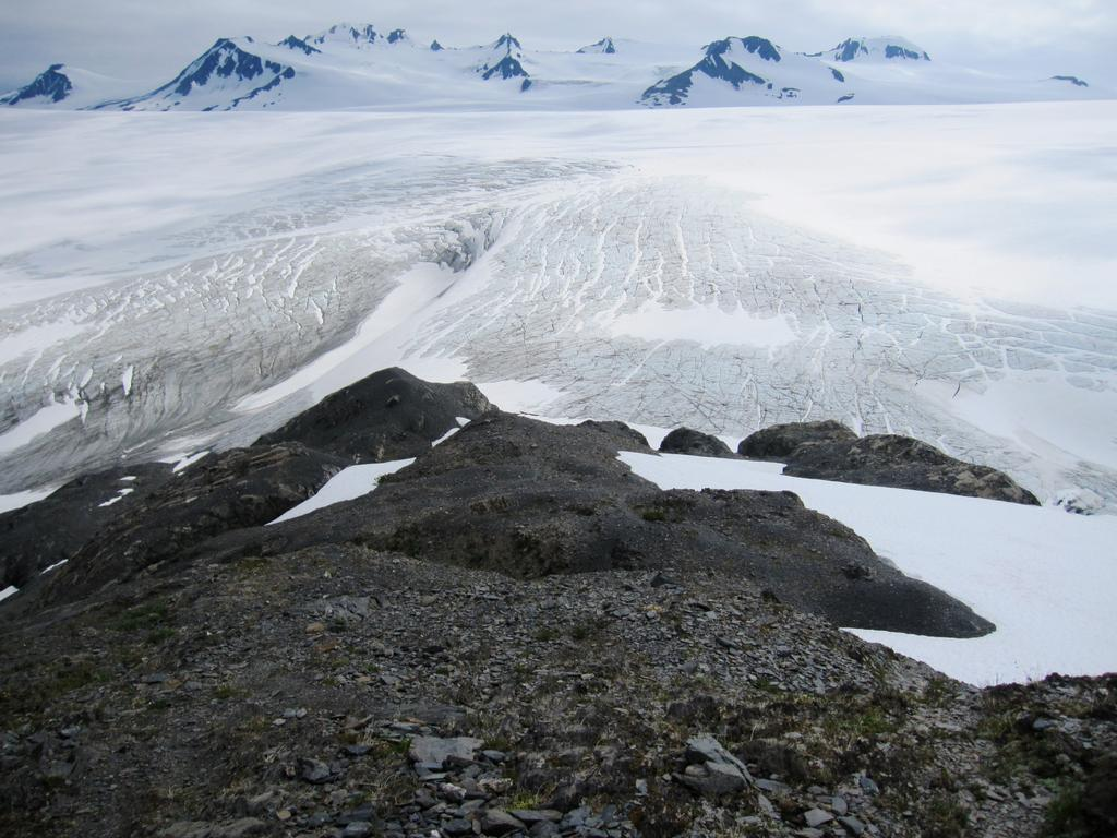 Harding Icefield in Kenai Fjords National Park, Alaska, U.S. July 15, 2017. Photo: Reuters