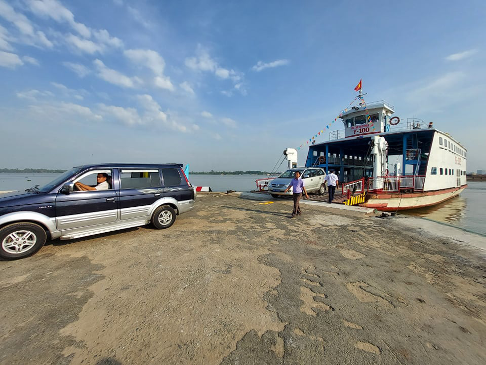 Rach Mieu ferry service is put into operation in Vietnam's Mekong Delta, January 27, 2021. Photo: Mau Truong / Tuoi Tre