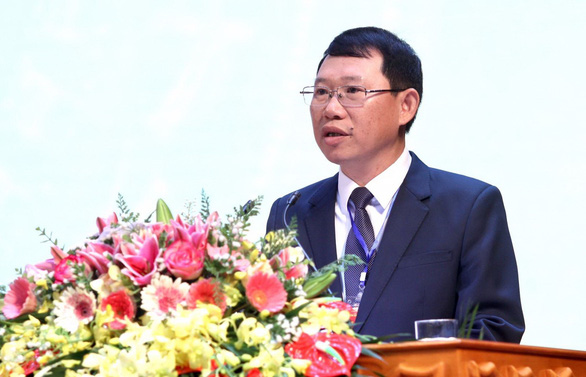 Le Anh Duong, chairman of the Bac Giang Province People's Committee in this photo supplied by the province's website.