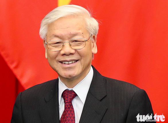 Vietnam's Party General Secretary Nguyen Phu Trong wins re-election