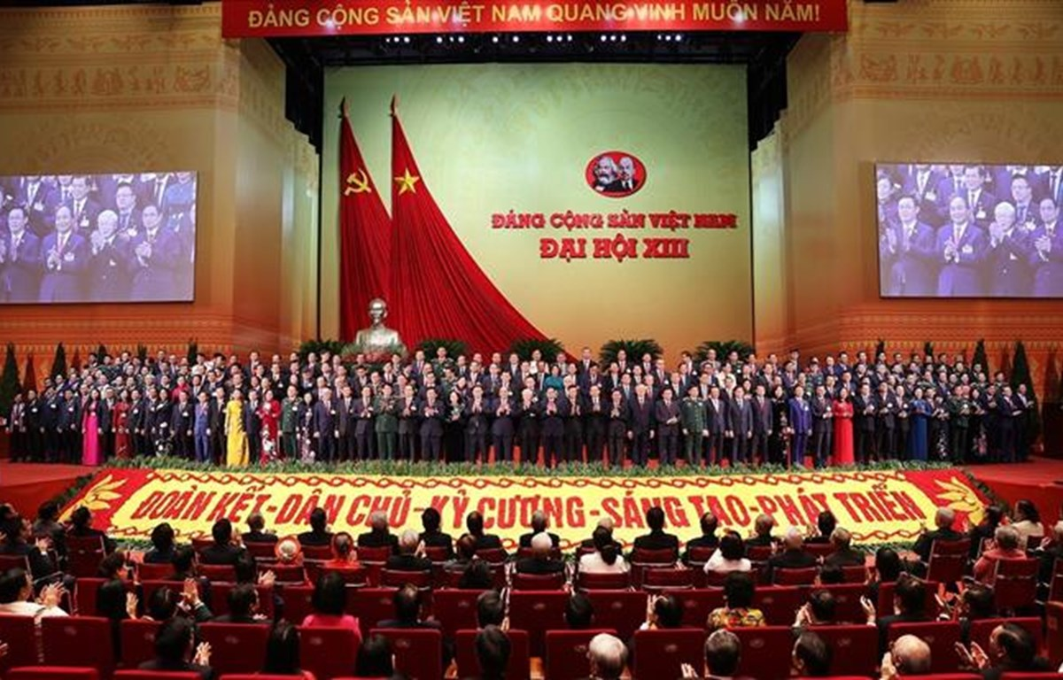 Vietnam's 13th Party Central Committee makes debut