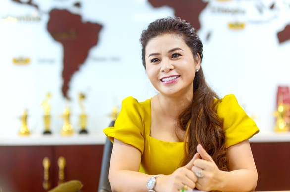 Le Hoang Diep Thao smiles when she poses for a photo in a supplied photo