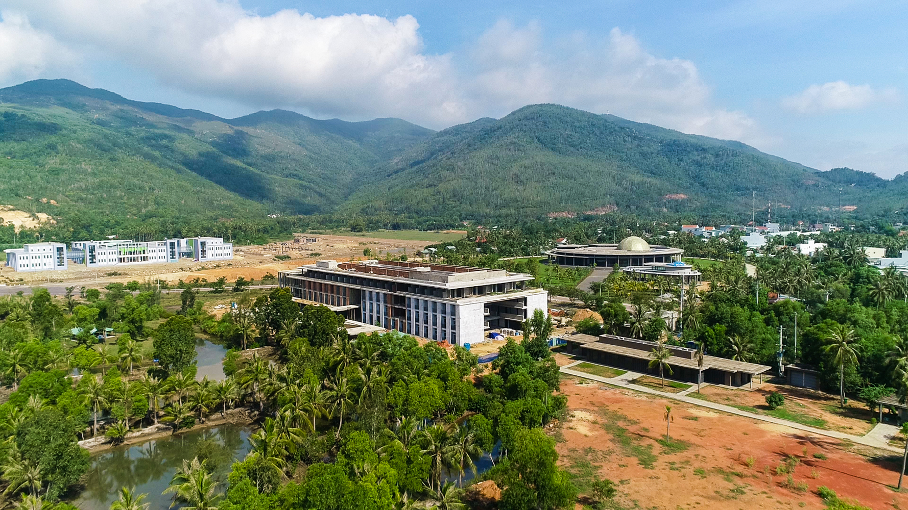 Quy Hoa scientific urban area in Quy Nhon City, central Binh Dinh Province. Photo: Dung Nhan / Tuoi Tre