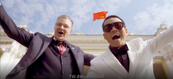 US envoy Kritenbrink lays down rhymes in surprise collaboration with Vietnamese rapper