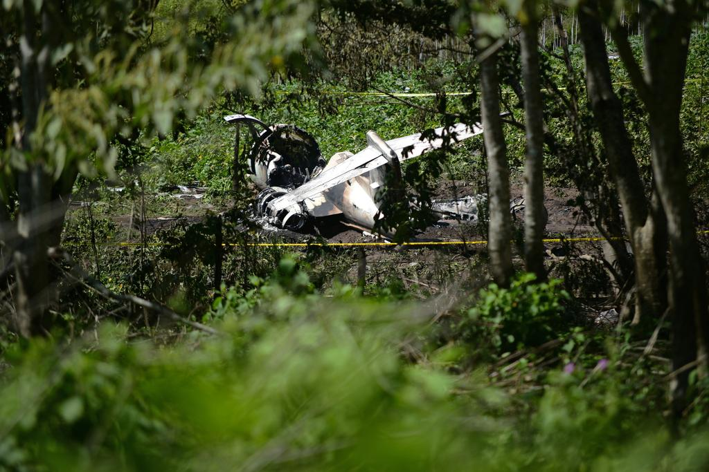 Six killed in Mexican air force plane accident in Veracruz