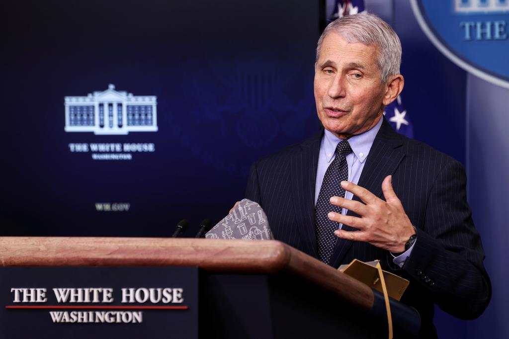 Fauci says U.S. political divisions contributed to 500,000 dead from COVID-19